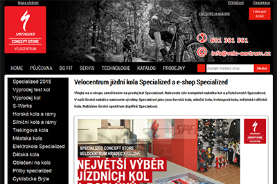 E-shop Specialized